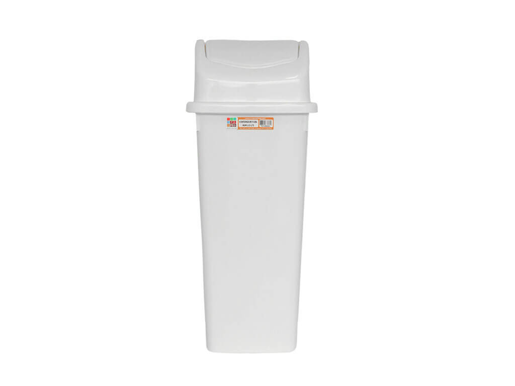 papelera vaivven de 35 litros blanca rimoplasticas Rimoplásticas
